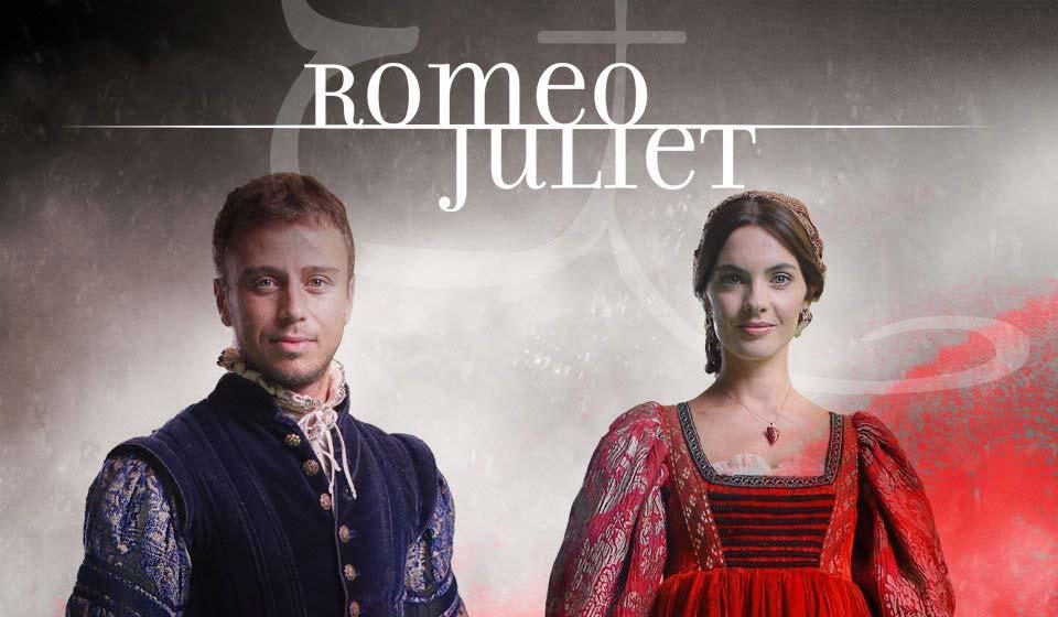 Locandina della mostra su Romeo e Giulietta di Verona