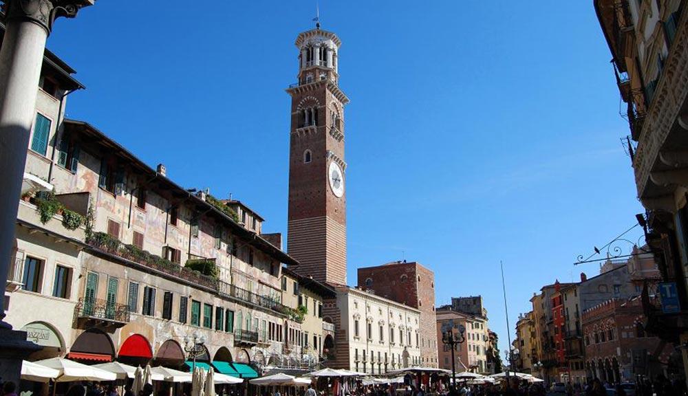 Torre dei lamberti di Verona
